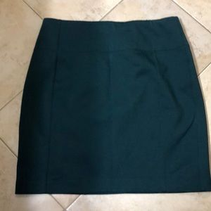 Lululemon Work Skirt- Dark Green- Size 10